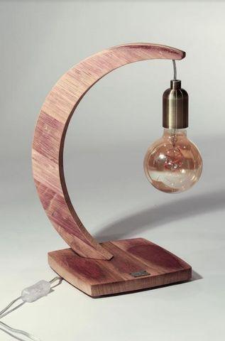 MEUBLES EN MERRAIN - Lampe à poser-MEUBLES EN MERRAIN-Brin de Chêne