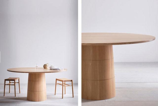 PINCH - Table de repas ronde-PINCH-Rodan