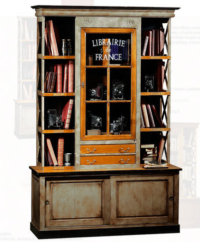 Felix Monge - Armoire vitrine-Felix Monge-Bibliothèque