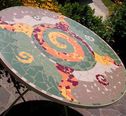 ManonLisa - Plateau de table-ManonLisa-Table Franco