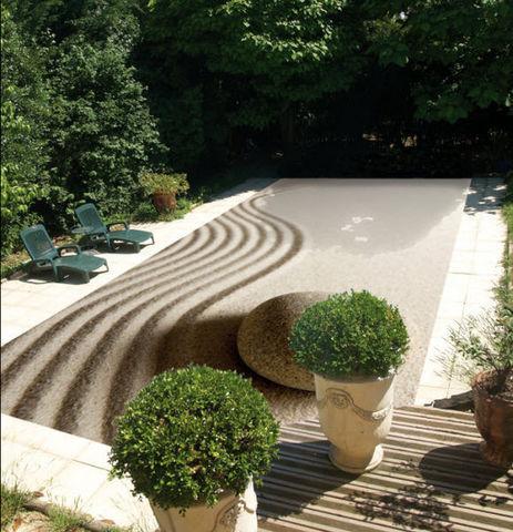 Tiki concept - Couverture de piscine d'hiver-Tiki concept