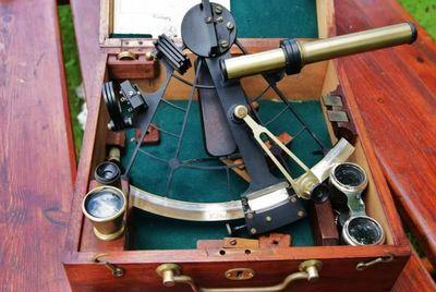 La Timonerie Antiquités marine - Sextant-La Timonerie Antiquités marine