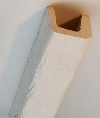 Nevadeco - Fausse poutre-Nevadeco-T 12 blanche en 3.50m