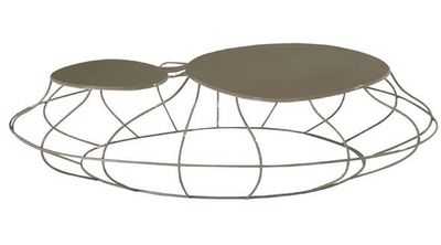 cute cut filaire table basse forme originale roche bobois. Black Bedroom Furniture Sets. Home Design Ideas
