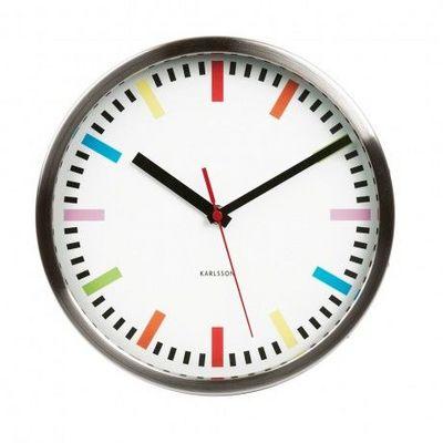 Karlsson Clocks - Horloge murale-Karlsson Clocks-Karlsson - Horloge Rainbow - Karlsson - Blanc