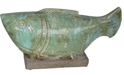 HERITAGE ARTISANAT - Poisson décoratif-HERITAGE ARTISANAT-Atlantis