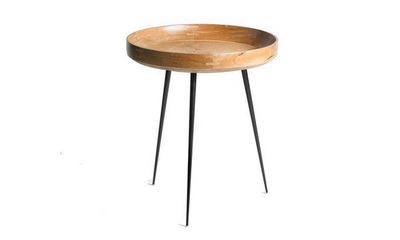 MATER - Table basse ronde-MATER-Bowl naturel