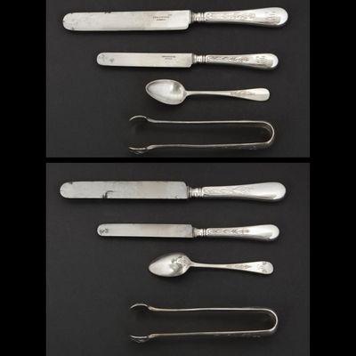 Expertissim - Ménagère-Expertissim-CHRISTOFLE. Partie de ménagère en métal argenté