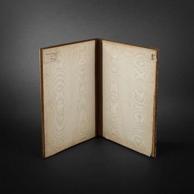 Expertissim - Porte-documents-Expertissim-Reliure en bronze et biscuit