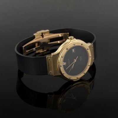 Expertissim - Montre-Expertissim-HUBLOT. Montre-bracelet de dame Classic en or et a