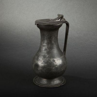 Expertissim - Pichet-Expertissim-Pichet en étain. Besancon, XVIIIe siècle