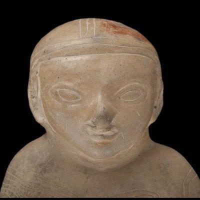 Expertissim - Objet d'art précolombien-Expertissim-Figure-sifflet en terre cuite  Guangala