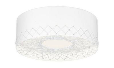 Zero - Plafonnier-Zero-Cord plafonnier blanc