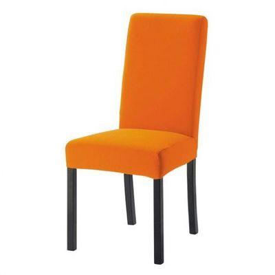 Maisons du monde - Housse de chaise-Maisons du monde-Housse orange Margaux