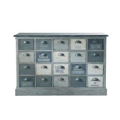 Maisons du monde - Meuble à tiroirs-Maisons du monde-Comptoir Flore
