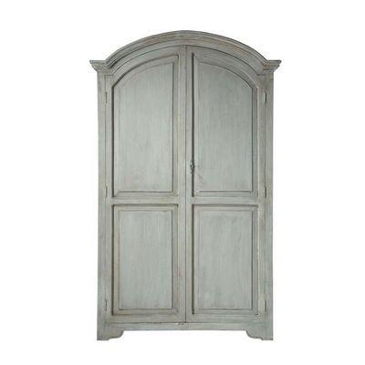 Maisons du monde - Armoire à portes battantes-Maisons du monde-Armoire gris perle Saint-Rémy