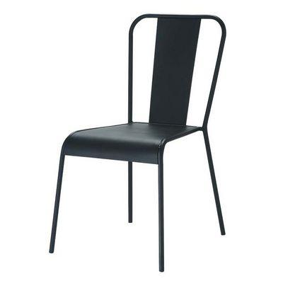 Maisons du monde - Chaise-Maisons du monde-Chaise noire Factory