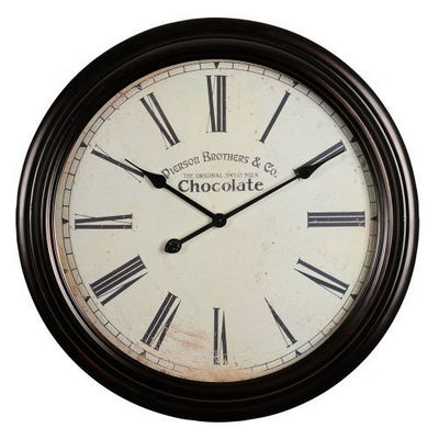 Maisons du monde - Horloge de cuisine-Maisons du monde-Horloge Chocolate
