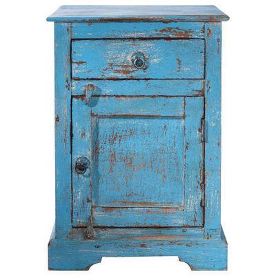 Maisons du monde - Table de chevet-Maisons du monde-Chevet bleu Avignon
