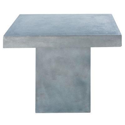 Maisons du monde - Table de repas carrée-Maisons du monde-Table à diner Mineral