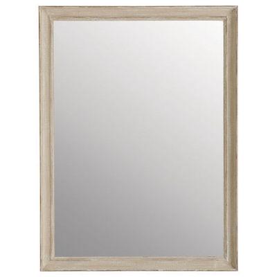 Maisons du monde - Miroir-Maisons du monde-Miroir Elianne beige 90x120