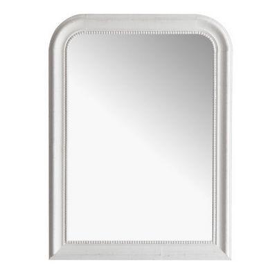 Maisons du monde - Miroir-Maisons du monde-Miroir Louis blanc 60x80