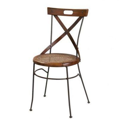 Maisons du monde - Chaise-Maisons du monde-Chaise crois�e Lub�ron