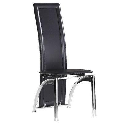 CLEAR SEAT - Chaise-CLEAR SEAT-Chaise Moderne Iris Noir