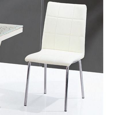 CLEAR SEAT - Chaise-CLEAR SEAT-Chaise Crème Calice