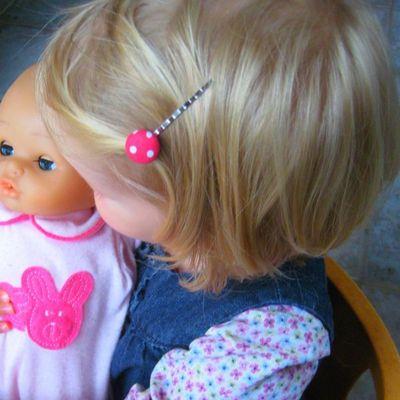 LITTLE BOHEME - Barette-LITTLE BOHEME-Barrettes cheveux enfant - Lot de 3