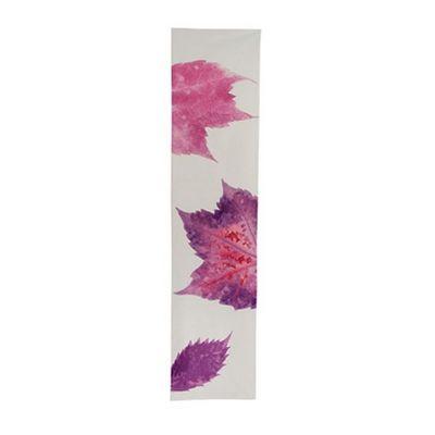 TROIS MAISON - Chemin de table-TROIS MAISON-CHEMIN DE TABLE FEILLE rose