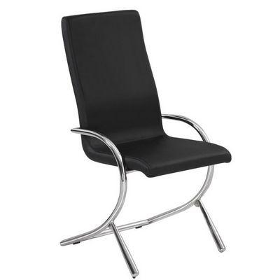 CLEAR SEAT - Siège d'accueil-CLEAR SEAT-Chaises Boreal Noires Lot de 4