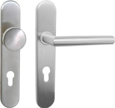 DESIGN MAT - Poignée de porte (ensemble)-DESIGN MAT-ENSEMBLE PALIERE FIXE BEQUILLE LAZER