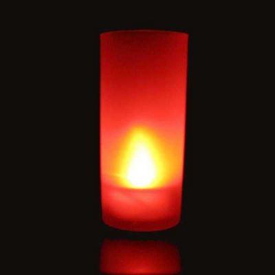 SUNCHINE - Bougie LED-SUNCHINE-6 bougies a led rouges fonction souffle