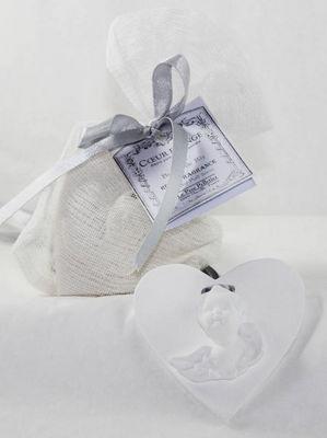 Le Pere Pelletier - Diffuseur de parfum par capillarité-Le Pere Pelletier-Coeur d'ange parfumé à suspendre senteur l'origi