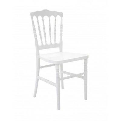DECO PRIVE - Chaise-DECO PRIVE-Chaise Napoleon 3 blanche