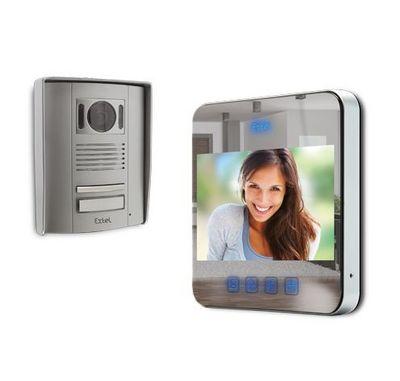 Extel - Portier vidéo-Extel-Quattro