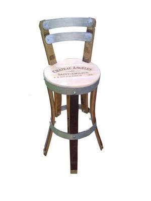 Douelledereve - Chaise haute de bar-Douelledereve-feuillette-