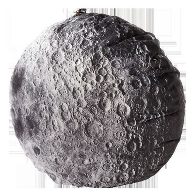 MEROWINGS - Coussin rond-MEROWINGS-Moon Cushion
