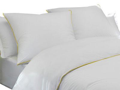 BLANC CERISE - Parure de lit-BLANC CERISE-Housse de couette - percale (80 fils/cm²) -  finit