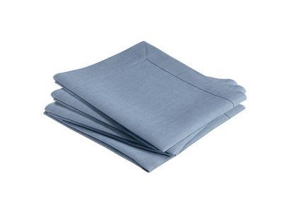 BLANC CERISE - Serviette de table-BLANC CERISE-Lot de 4 serviettes de table - lin traité déperlan