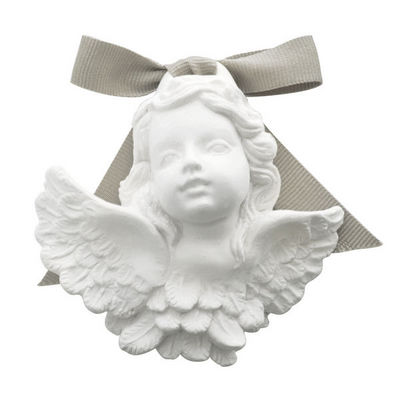 Mathilde M - Parfum d'intérieur-Mathilde M-Tête d'angelot à suspendre, parfum Poudre de Riz