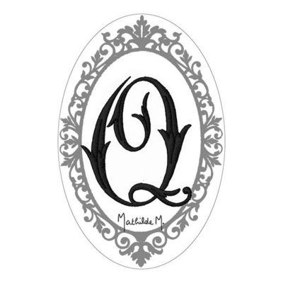 Mathilde M - Savon-Mathilde M-Savon Alphabet Monogramme Q