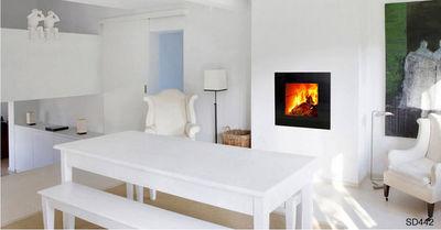 Bodart & Gonay - Cheminée à foyer fermé-Bodart & Gonay-SD 442 GREEN