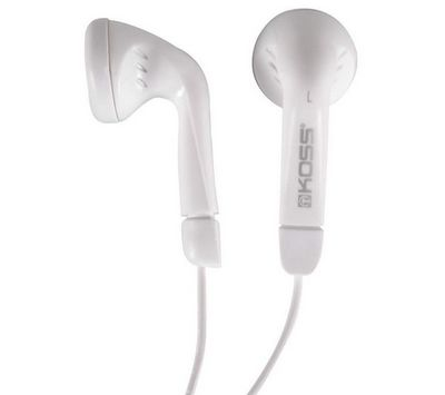 KOSS - Casque audio-KOSS-Earbud KE-5 - blanc - Ecouteurs intra-auriculaires