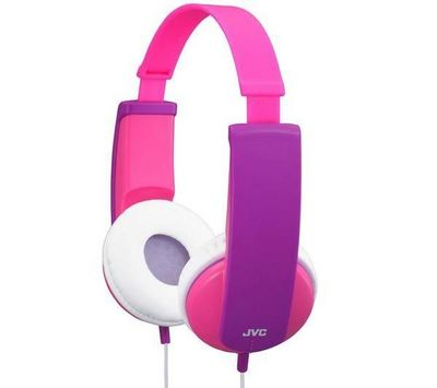 JVC - Casque audio-JVC-Casque enfant HA-KD5 - rose