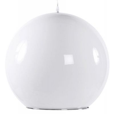 WHITE LABEL - Suspension-WHITE LABEL-Lampe suspension design Blanca
