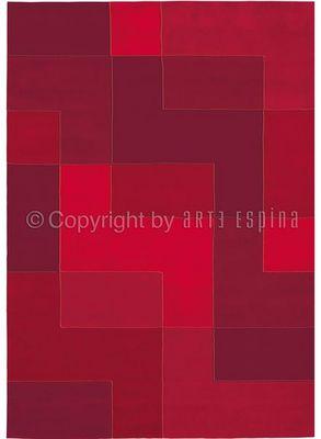 Arte Espina - Tapis contemporain-Arte Espina-Tapis Design Red Logarythm