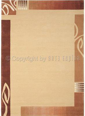 Arte Espina - Tapis contemporain-Arte Espina-Tapis de chambre EASY GOING 3 beige 90x160 en Acry