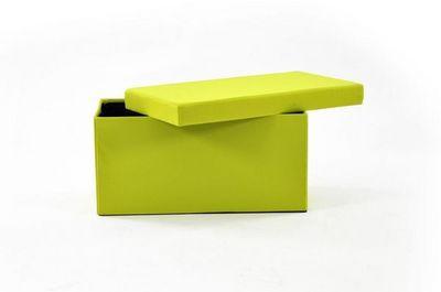 IKKO Home Design - Malle-IKKO Home Design-Pouf Coffre pliant anis SUNNY